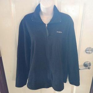 Patagonia Black Fleece Zip Up Jacket